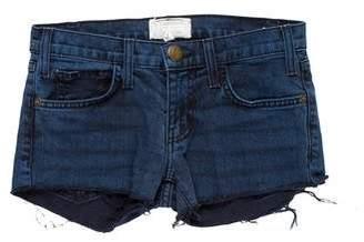 Current/Elliott Low-Rise Mini Shorts
