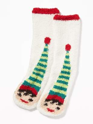 Old Navy Printed Cozy Socks for Adults