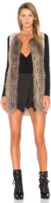 Ella Moss Kya Faux Fur Vest $235 thestylecure.com