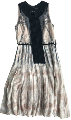Barbara Bui Pink Silk Dress for Women