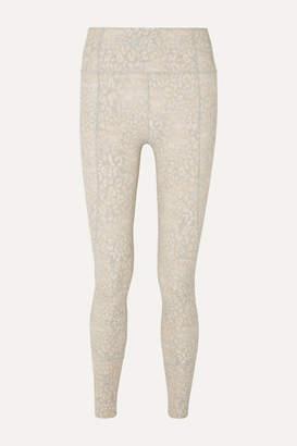 Varley Bedford Printed Stretch Leggings - White