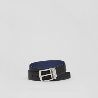 Burberry Reversible Grainy Leather Belt