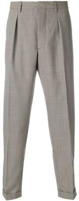 Prada houndstooth check trousers