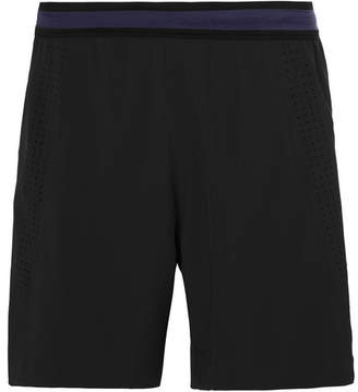Soar Running Three Season Wide-Leg Stretch-Shell Shorts