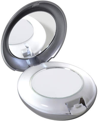 Tweezerman LED Lighted 10X/1X Compact Mirror