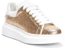 Alexander McQueen Glitter Leather Sneaker