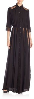 Michael Kors Collection Lace-Inset Silk Maxi Dress $4,595 thestylecure.com