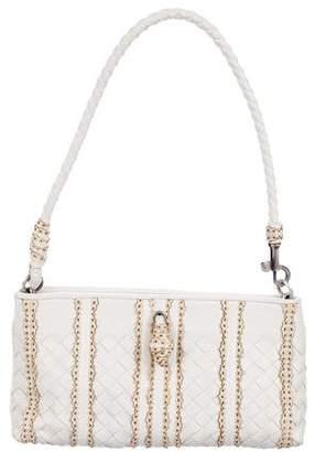 Bottega Veneta Intrecciato Hinge Shoulder Bag