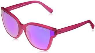 Armani Exchange Women's Plastic Woman Non-Polarized Iridium Square Sunglasses
