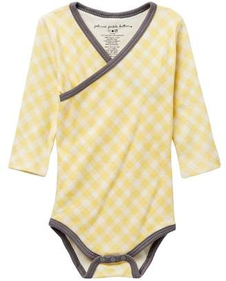 Petunia Pickle Bottom Organic Cotton Long Sleeve Bodysuit (Baby Boys)