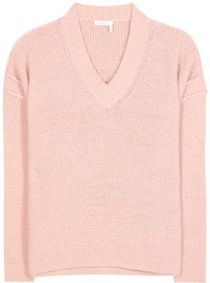 See by Chloe Cotton-blend sweater