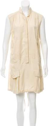 Alberta Ferretti Sleeveless Button Up Dress Sleeveless Button Up Dress