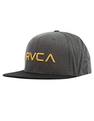 sports shoes e09b8 306c8 RVCA Men s Twill Snapback HAT
