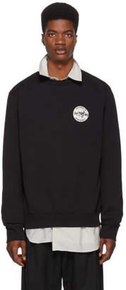 Yang Li Black PVT Crewneck Sweatshirt