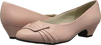 SoftStyle Soft Style by Hush Puppies Women's Pleats Be with You Pump
