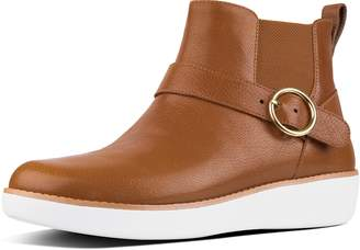 FitFlop Bria Buckle Leather Chelsea Boots
