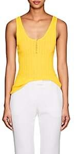 Altuzarra Women's Mirto Wool-Cashmere Tank - Yellow