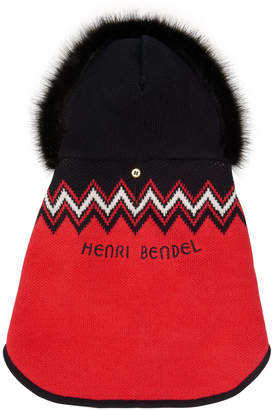 Henri Bendel Hb Argyle Pet Sweater