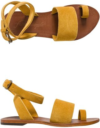 Free People Torrence Flat Sandal $68 thestylecure.com