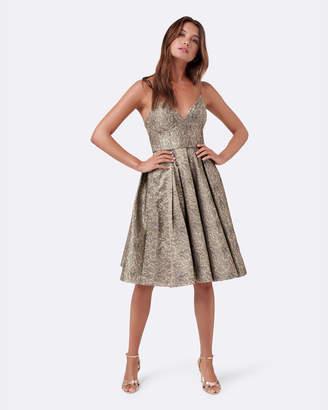 Forever New Donna Jacquard Prom Dress