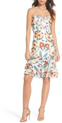 Cooper St Gardenia Strapless Dress