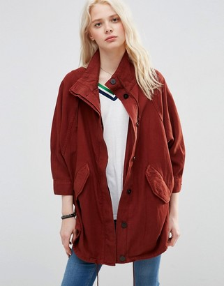 ASOS Jacket In Heavy Wash $98 thestylecure.com