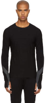 Y-3 Y 3 Black Long Sleeve Merino T-Shirt