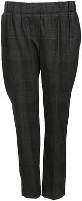 Brunello Cucinelli Checked Trousers