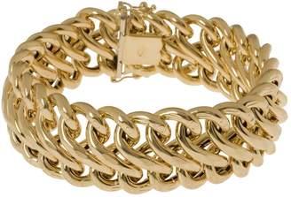 "Arte D'oro Arte d'Oro 8"" Polished Figure-Eight Bracelet, 18K, 30.0g"