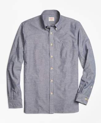 Brooks Brothers Cotton Chambray Sport Shirt