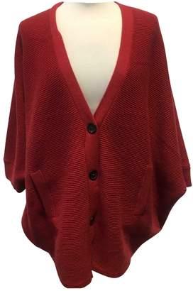Brunello Cucinelli Red Cashmere Knitwear
