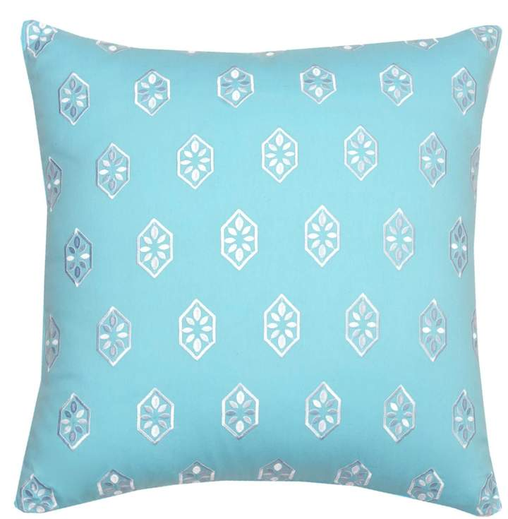 Summerville Embroidered Decorative Pillow