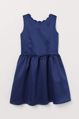 H&M Satin Dress - Blue