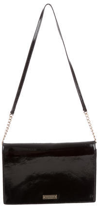 Kate Spade Kate Spade New York Black Patent Leather Shoulder Bag