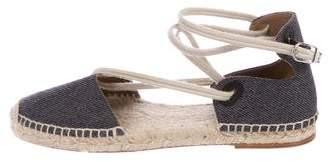 Hermes Denim Espadrille Sandals