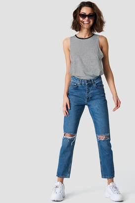 Rut & Circle Rut&Circle Louisa Destroyed Jeans dark blue denim