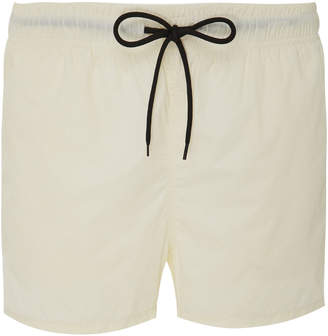 Solid & Striped Shell Swim Shorts