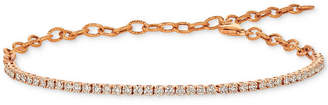LeVian Le Vian Strawberry & Nude Diamond Bracelet (1-1/4 ct. t.w.) Set in 14k Gold or Rose Gold