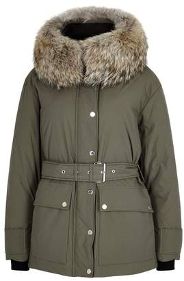 Belstaff Dawlby Sage Waterproof Coat