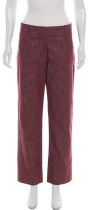 Marc Jacobs Structured Mid-Rise Pants