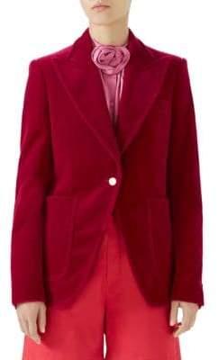 Gucci Matte Velvet Jacket