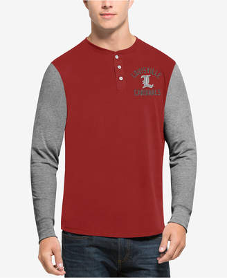 '47 Men's Louisville Cardinals Downfield Henley T-Shirt