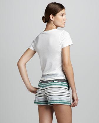 Joie Kimble Striped Shorts
