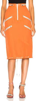 Calvin Klein Zip Detail Skirt