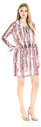 Just Cavalli Women's Western Paisley Print Dress