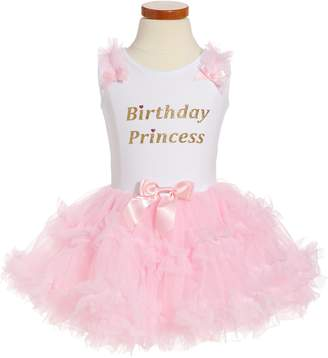 c01337b8f1c Popatu Birthday Princess Tutu Dress