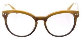 Derek Lam Round Gradient Sunglasses