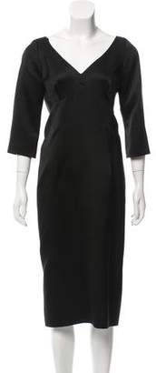 Marc Jacobs Silk Midi Dress w/ Tags