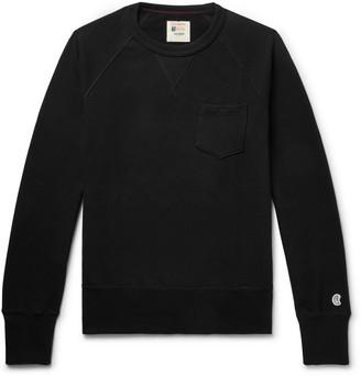 Todd Snyder + Champion Champion - Loopback Cotton-Jersey Sweatshirt - Men - Black