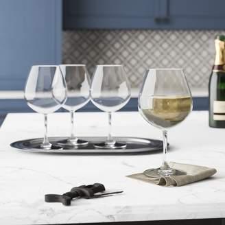 Three Posts Hinesville 22 oz. Plastic Stemmed Wine Glass